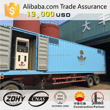 40' diesel tank iso container, fuel oil day tank, above ground fuel tanks, double steel walled