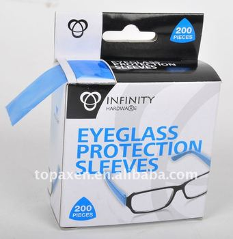 eyeglasses protective sleeve covers for side arm