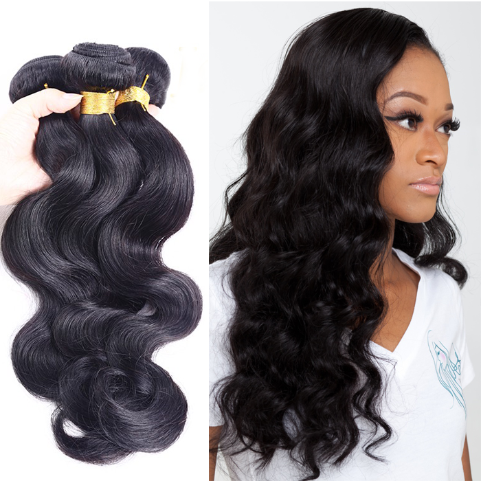 9A Brazilian Virgin Body Wave Hair 3Pcs 14 Inch Hair Lot Wholesale Virgin Brazilian Hair Weave Soft And <strong>Thick</strong>