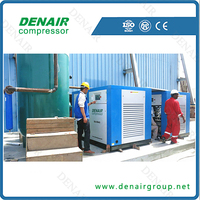 Save Power 30 % of 110kw 150hp electric air compressor