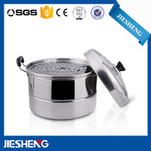 stainless steel steamer and cooking pots, electric fish steamer