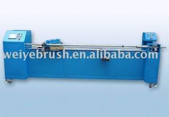 Hot mell machine for roller brush