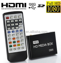 portable hd media player full hd 1080p Karaoke hd multimedia player digital signage plug and play
