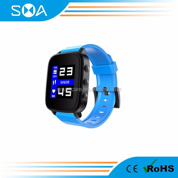 2018 Smart sports watch with memory LCD screen, brighter under sunshine, 3ATM waterproof for Android / ios
