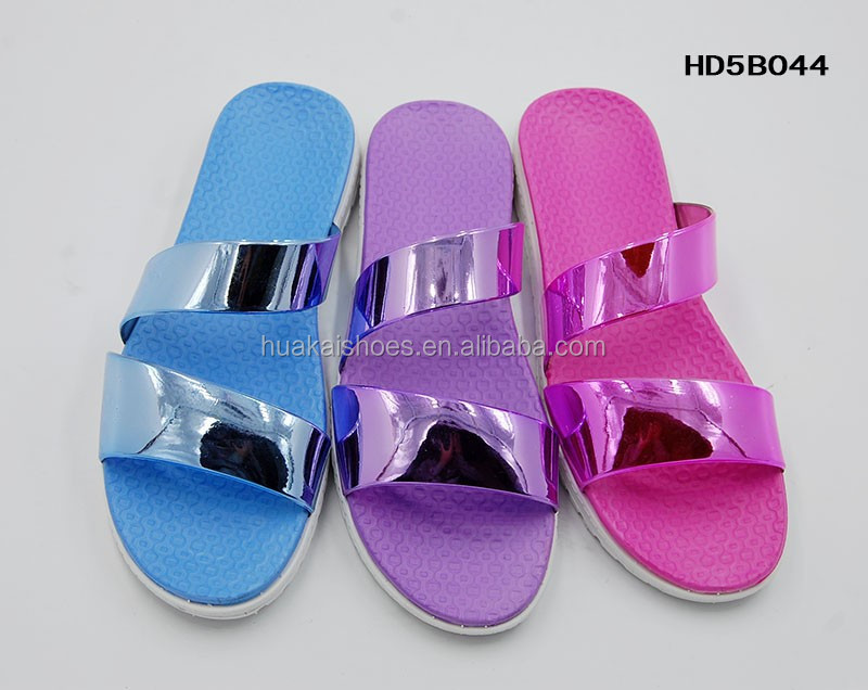 High Quality Pvc Bring Cover Slipper Moulding, Fashion New Design Lady's Night Slippers