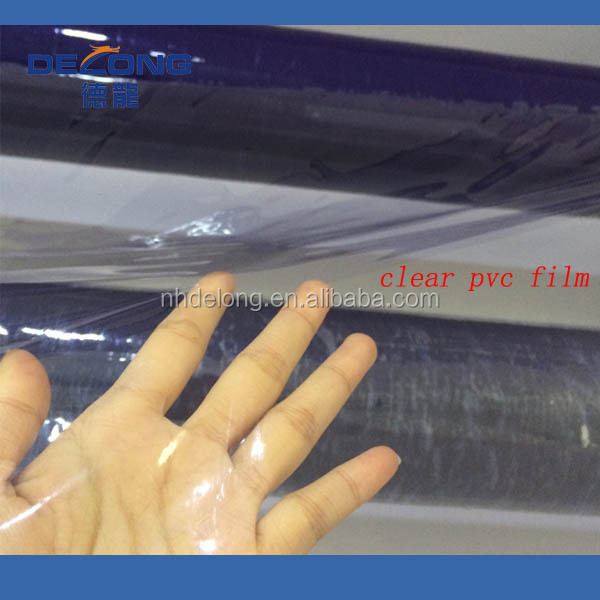 Clear Plastic PVC Heat Shrink Packaging Film Roll For Cup Seal