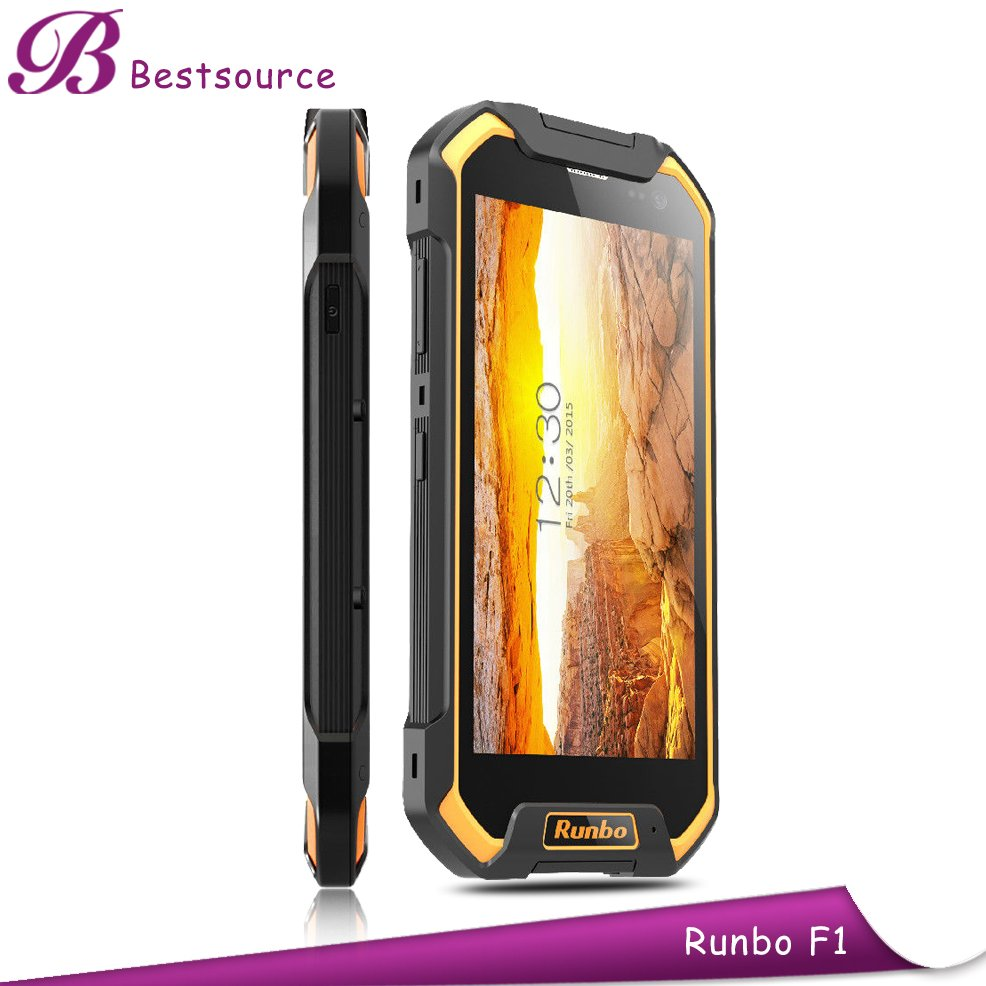 "5.5"" Android IP67 Shockproof Dustproof 3G 4G Bluetooth Wifi Rugged Mobile Military Cell Phone"