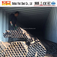 Hot rolled Black MS Carbon steel pipe astm a120 made in china