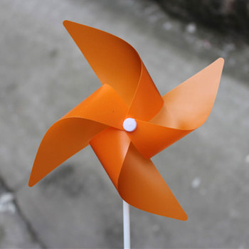 Customized Size Colorful Kids Toy Pvc Windmill