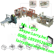 automatic carton box gluing machine/carton box sealing machine/carton erecting machine