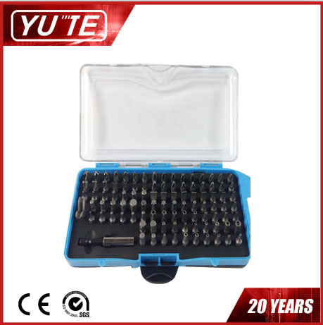 YUTE 100pcs pocket screwdriver&torque screwdriver&screwdriver bit set