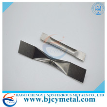 Tungsten Evaporation Boat Made Of Ferro Alloy Used In Vacuum Metalizing