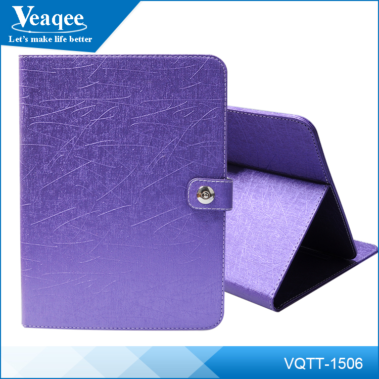 Veaqee shockproof 10.6 inch leather flip cover case for tablet case