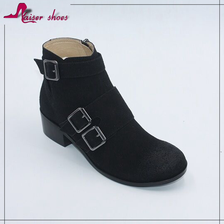 New Style Competitive Price Women Ankle Boots Shoes 2016