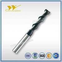 2 Flute Long Flute Length cutting tool for Steel or Cast Iron Milling