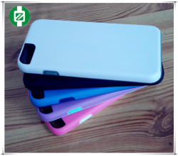 2014 new promotion, Double color design moble phone case for Iphone6