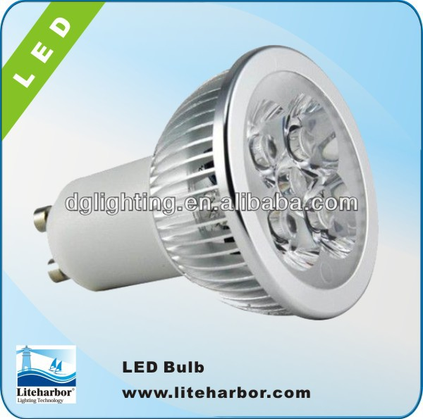GU10 Spotlight High Power CREE Led Bubl 4W 4x1W GU10/MR16/E27/E14/GU5.3 Led Lighting Lamps Spotlight Led Bulbs