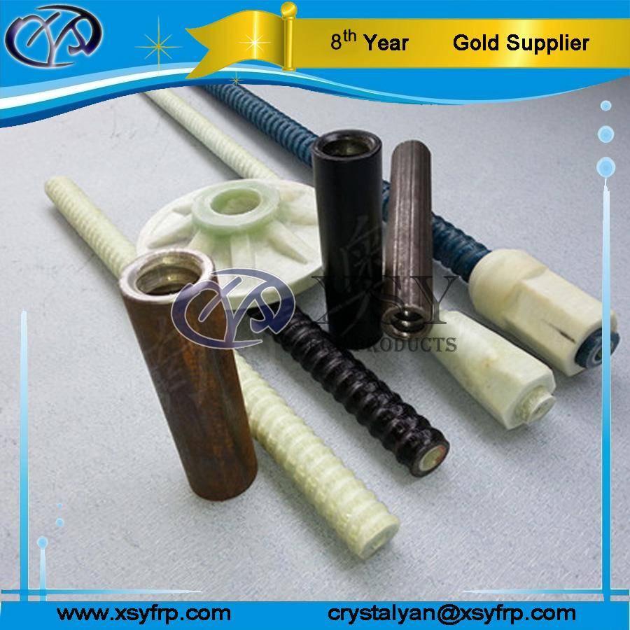Fiberglass Frp Hollow Self Drilling Rock Support Anchor bolt