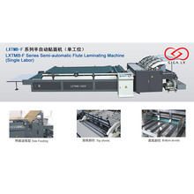1600F Semi-automatic flute laminating machine
