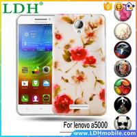 Colorful DIY Soft TPU Phone Case For Lenovo A5000 A 5000 5.0 inch Back Cases Covers For A5000 Flexible Skin Shell Shield