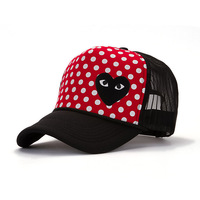 Mesh cap wholesale spring and summer fashion Korean men and women sun hat visor cap Cartoon Network 12