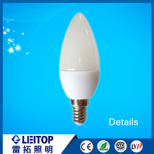 factory price high quality 360 degree E14 led bulb LED decorative bulb led candle light used for indoor