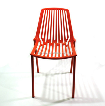Contemporary replica Rion stackable cast aluminum garden chair for outdoor CH3068
