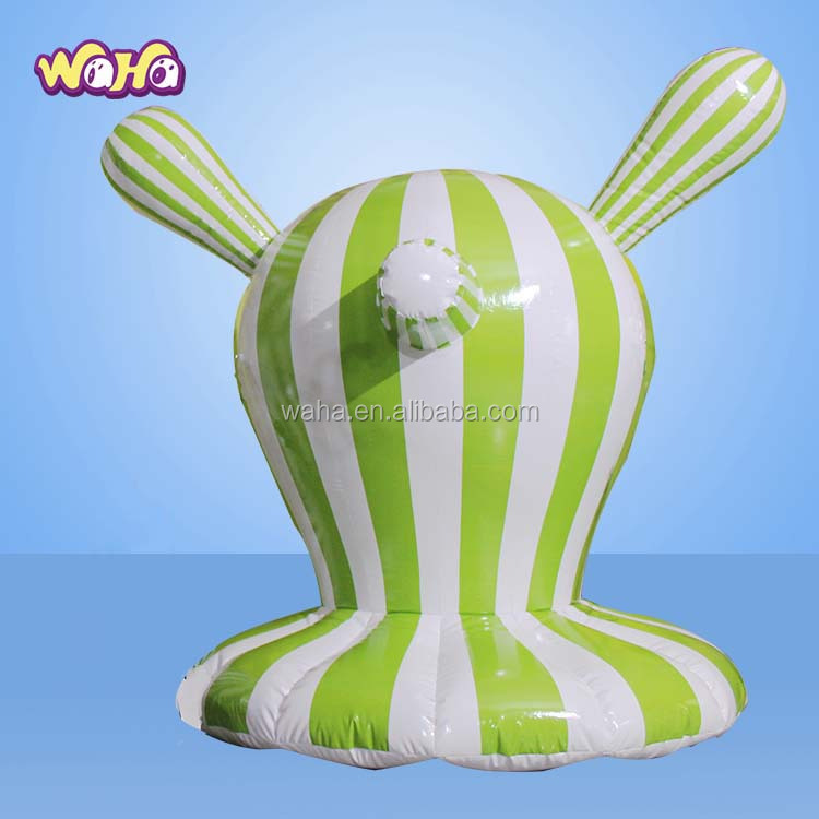 Abstract art Decoration cartoon customized stripe inflatable