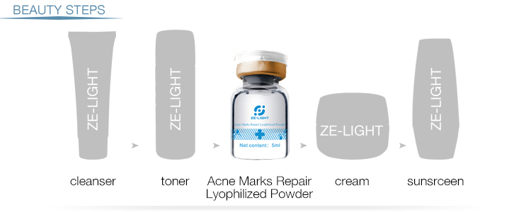 good effect on acne treatment post-operative wound marks repair Lyophilized Powder