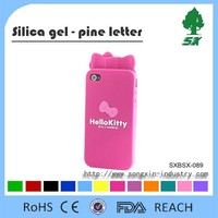 Factory Price Cute Cartoon Design Cell phone Case/Silicone Mobile Phone Case/Silicone mobile phone cover for I9100/I9300
