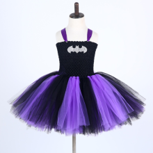 Hero Dance Tutu Dress for Girl Party Dance Children Princess Halloween Costumes for Kids