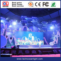 P6 movable ultra slim LED 3in1 SMD LED display board by China pro manufactuerer for night club LED display