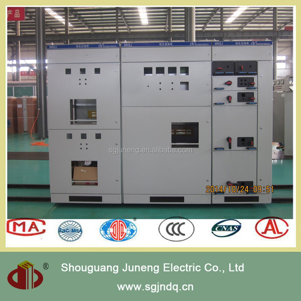 mns low voltage switchgear panel electric energy meter box