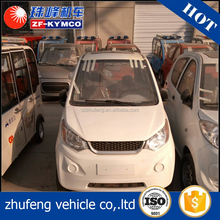 Eco-friendly 4 wheel cheap utility enclosed electric vehicles