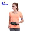 Lighting up for night reflective LED fanny pack