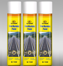 750ml line marking aerosol paint road marking spray with free samples