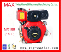 High Quality 8.5HP Single Cylinder Motorcycle Diesel Engine Air-Cooled