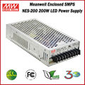 Meanwell Power Supply NES-200-24 (200W 24V 8.8A) 200W Single Output Enclosed LED 24V Power Supply
