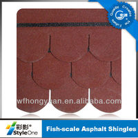 Fish scale asphalt shingles(low cost, high quality)