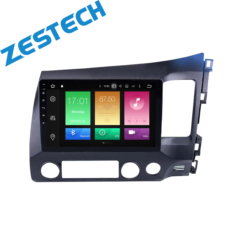 android 8.0 car dvd player for honda civic 2006 2007 2008 2009 2010 2011 car radio video player gps navigation