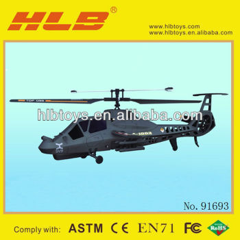 FX060 2.4G 3.5CH Single Blade RC Helicopter #91692