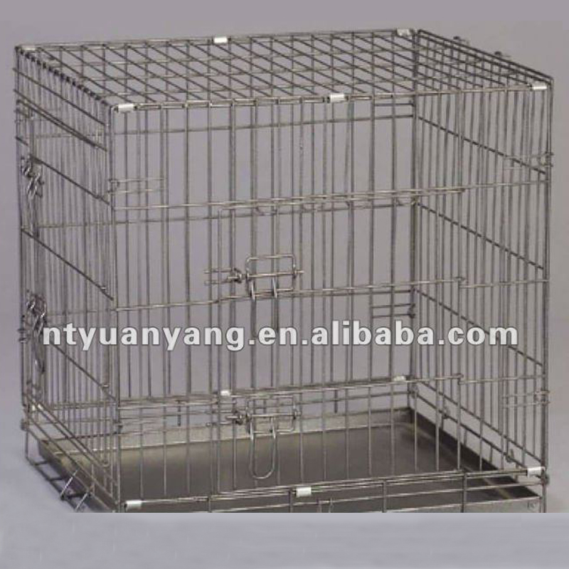 Large Iron Metal Welded wire mesh dog kennel