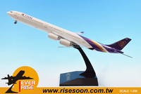 AIR BUS A340-600 Thaiairways Plastic model plane Scale 1:200
