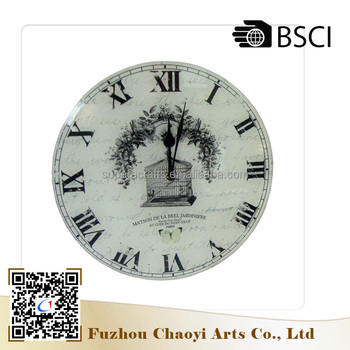China Factory Custom Newest Design Creative High quality safe wall mounted clock