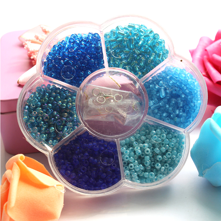 Colorful Miracle Glass Pearl Beads For Dress