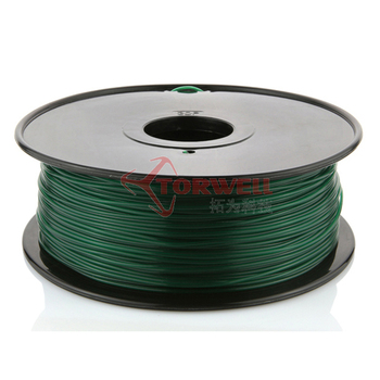 Clear 1.75mm ABS/PLA/HIPS filament for 3D printer,1kg/spool(2.2lb)