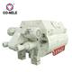 2000 liters portable CO-NELE twin shaft concrete mixer