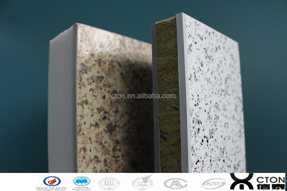 exterior decorative insulation fiber cement board