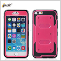 hot pink front and back combo case for iphone6