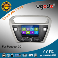 Newest Android car radio Android car dvd player gps navigation for Peugeot 301 with canbus with 3G WIFI